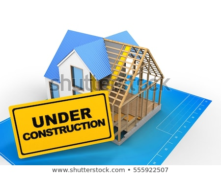 3d-illustration-house-construction-over-450w-555922507