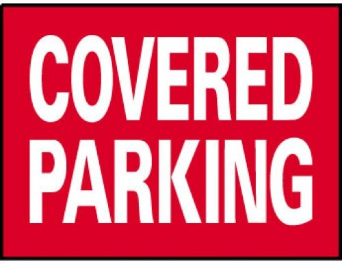 COVERED PARKING